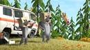 Маша и Медведь В гостях у Маши и Медведя Сборник лучших мультфильмов про новых друзей