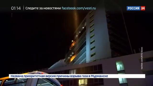 Новости на Россия 24 В Дублине вспыхнул пожар в одной из гостиниц неподалеку от международного аэропорта