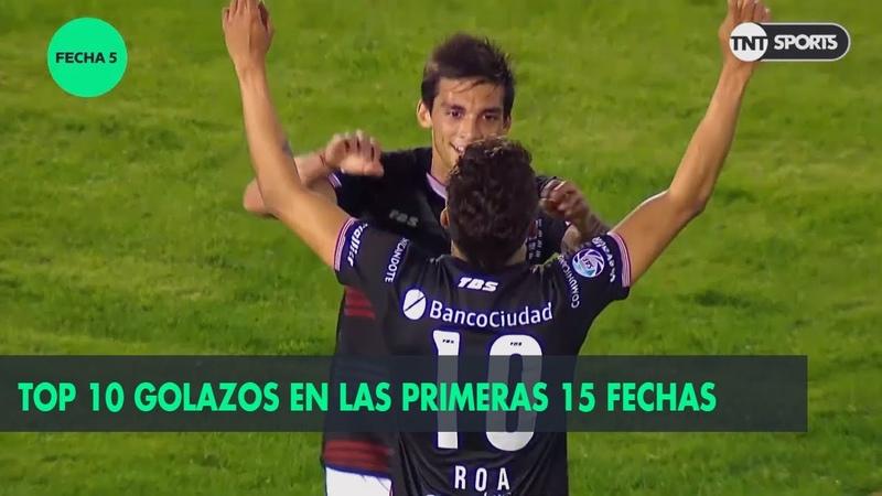 Top 10 de golazos en la primera parte de la Superliga 20182019