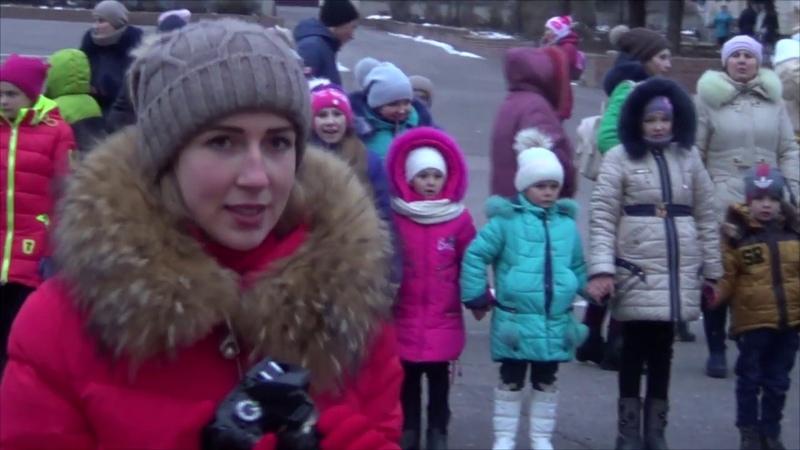 Відкриття Новорічної ялинки в Білокуракине. Свято Миколая, 19.12.2018