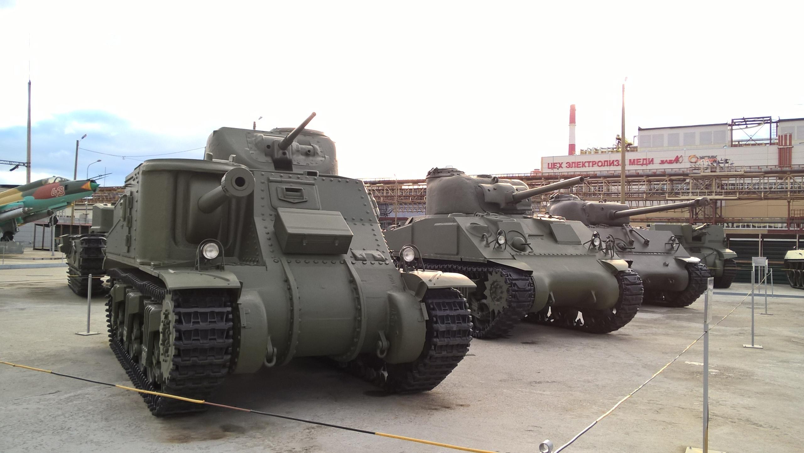 Американские танки в Верхней Пышме