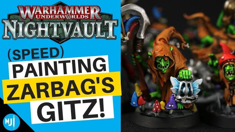 How To Paint Zarbag'S Gitz For Warhammer Underworlds Nightvault