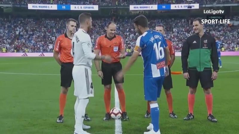 РЕАЛ МАДРИД 1 - 0 ЭСПАНЬОЛ / Обзор матча, видео обзор, голы матча.