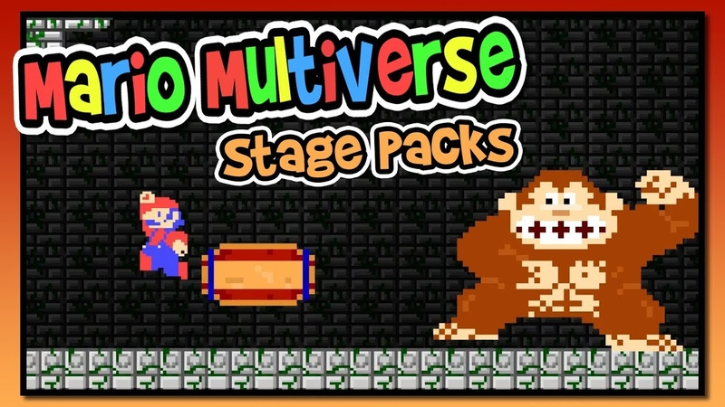 Mario Multiverse Stage Packs! | BTG | Like Mario Maker!