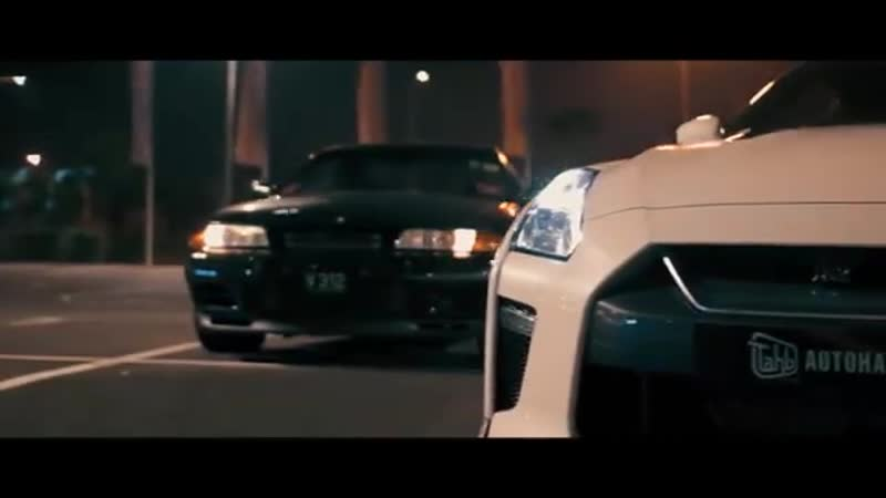New and Old Nissan GT-R.
