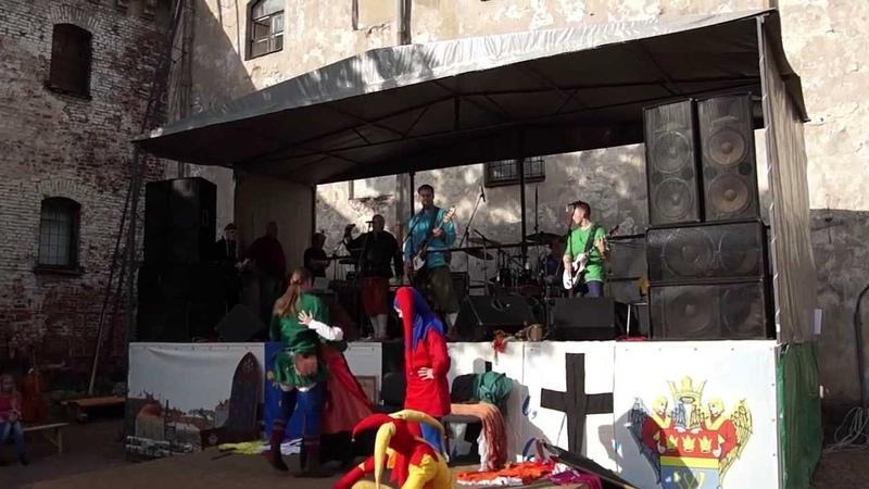 Пророчество Вёльвы - Лесник (КиШ cover) Выборг, Средневековый город 14.09.2013