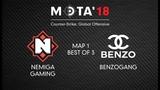Nemiga Gaming vs BenZoGang, Map 1 МЭТА`18. Winter