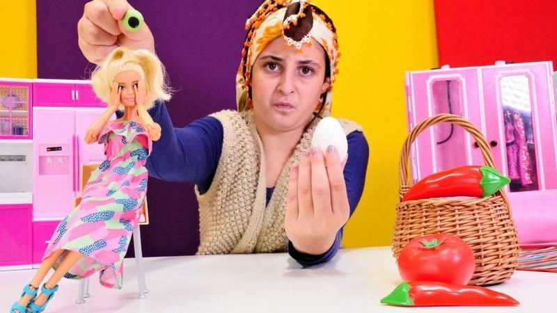 Barbieye köyden teyzesi geliyor! Eğlenceli kız oyunu!
