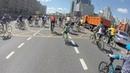 19.05.19, Москва, велофестиваль. Движение по кольцу, часть 2. Парень на одноколесном велосипеде