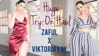 Huge Black Friday Try-On Haul | ZAFUL X VIKTORIA KAY