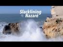 🔴 СЛАБОНЕРВНЫМ НЕ СМОТРЕТЬ 🔴 Прогулка по Огромным Волнам Nazaré December 16 2017 Portugal ✈🌴☀