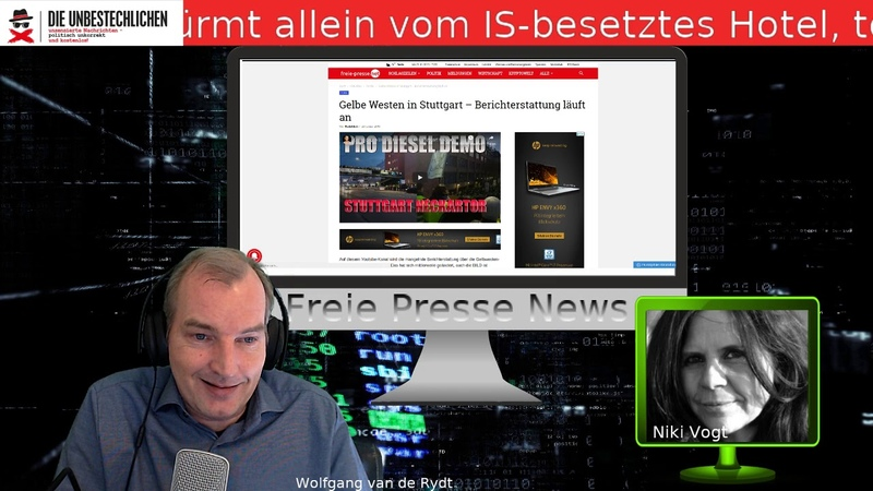 Freie Presse News: Umwelthilfe immer dreister Gelbe Westen in Stuttgart u.a.