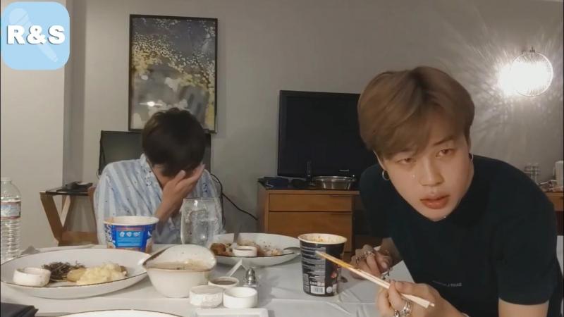 [ Озвучка RS ] Live Чимин и Джин