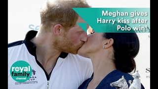Большой поцелуй Меган и принца Гарри