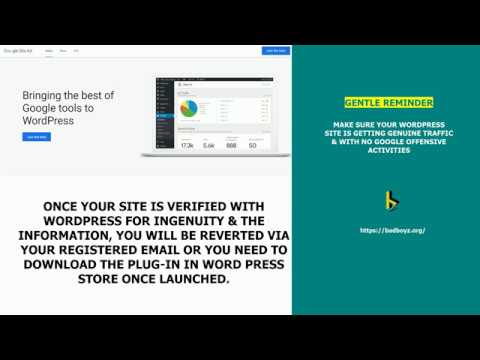 Google Site kit Plugin for WordPress - Register for Early Access Now