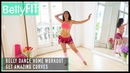 Belly Dance Workout Burn Belly Fat with Twist Shimmies