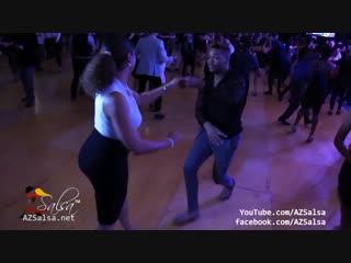 Tanja La Alemana y Antonio Doza - Houston Salsa Congress 2018!