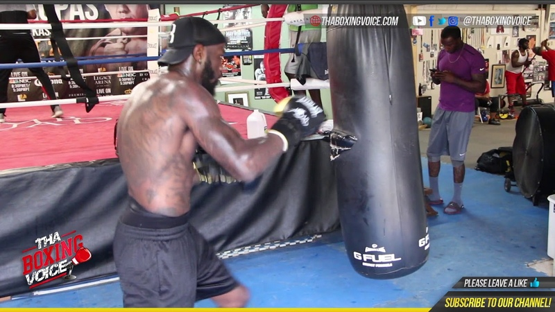 🔥Deontay Wilder In Camp For Fury Fight❗️Whipping Shots on The Heavy Bag🥊 💪🏾