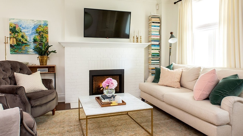 House Tour: A Blogger's Bright And Sweet First Home    House Home