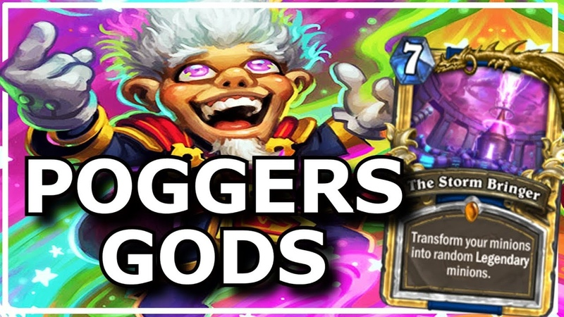 Hearthstone - Best of Poggers Gods