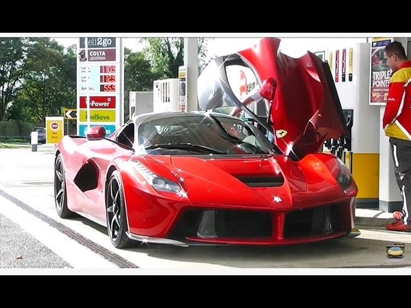 MY RIDE IN A LA FERRARI !