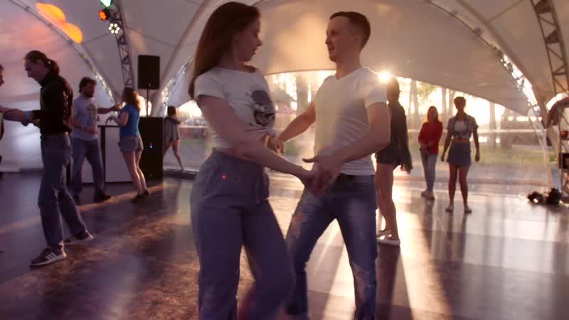 Танцевальный выезд в гриль парк зук