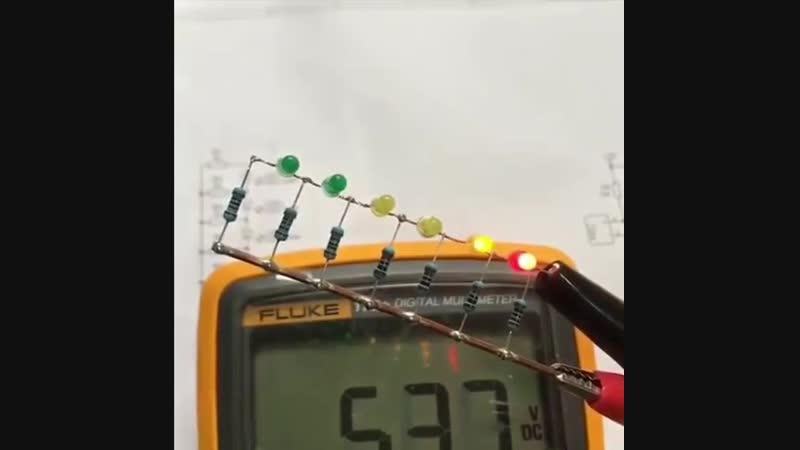 Собираем индикатор уровня напряжения Заметки строителя
