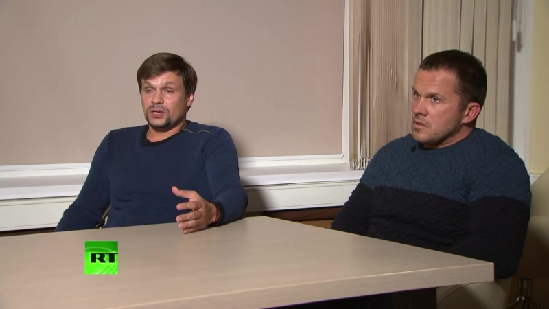 Эксклюзивное интервью Маргариты Симоньян с «подозреваемыми» по делу Скрипалей Петровым и Бошировым