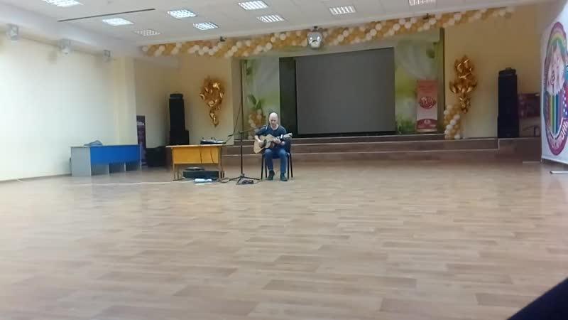 Гитарист виртуоз Данис Щербаков Волынка на гитаре