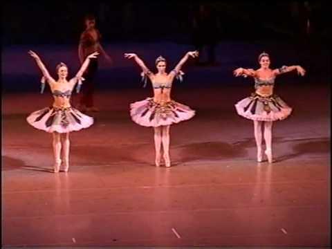 Cheprasova E. Gonchar N. Tkachenko T. Mariinsky Theater.Корсар . Трио одалисок