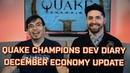 Quake Champions Developer Diary Economy Update and Battle Pass