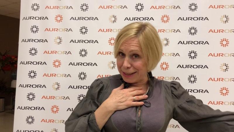 Татьяна Агаркова с яркими впечатлениями от продукции AUR-ORA