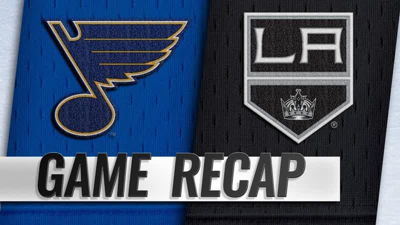НХЛ - регулярный чемпионат. «Лос-Анджелес Кингз» - «Сент-Луис Блюз» - 43 (12, 20, 11)