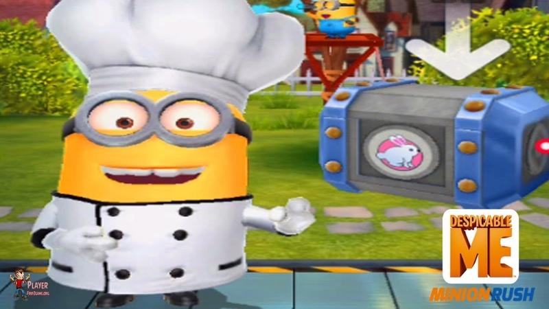 Despicable Me Minion Rush Eggs Travaganza Unlocked Baker Costume Minion
