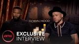 ROBIN HOOD Interviews (Taron Egerton, Jamie Foxx, Jamie Dornan) AMC Theatres (2018)