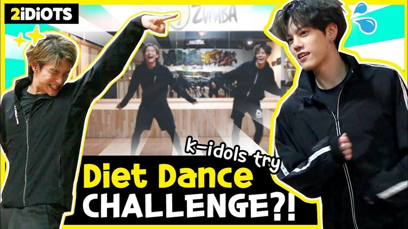 2 IDIOTS Ep 31 *Spend 1000 calories an hour If you want to go on a diet pay attention THIS CHALLENGE