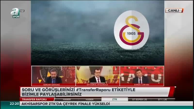 Galatasaray Transfer Raporu - Evren Turhan Yorumları - Alan ve Pato Ne Zaman Geliyor-