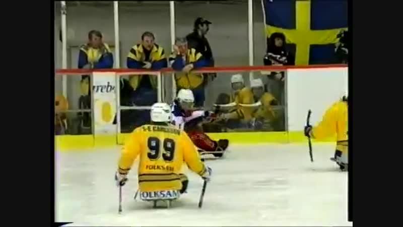 Паралимпийские игры 1994 - Следж хоккей