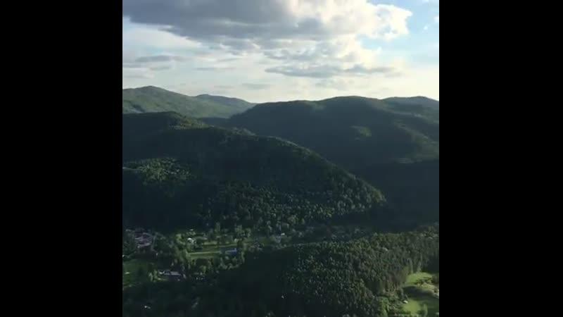 Зелень вокруг Торгашинского хребта