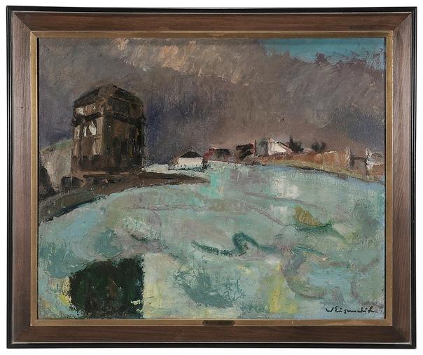 Willy Eisenschitz (Wien 1889 - 1974 Paris) В 1911 году начал учиться в Академии изящных искусств. Он интересовался последними художественными течениями, особенно его увлекали современные