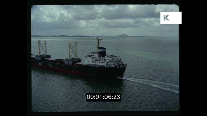 Tanker, Cargo Ship, Aerials from 35mm