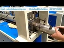 Semi-auto Hydraulic Pipe Punching Machine Hole Puncher Steel Tube
