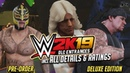 WWE 2K19 : ALL DLC Deluxe Edition Entrances and Ratings!! Ronda Rousey, Rey Mysterio and more!