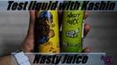 Тест жидкости с Кашином 115 Liquid test with Kashin Жидкость Nasty Juice Yummy Fruity Series
