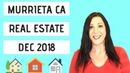 Murrieta CA Real Estate Market December 2018