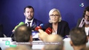 En Coulisses / Le Pen-Salvini objectif européennes - C Politique - 14/10/18