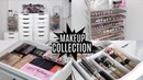 MAKEUP COLLECTION AND STORAGE 2017 | FAVE MAKEUP AND BRUSHES INCLUDED