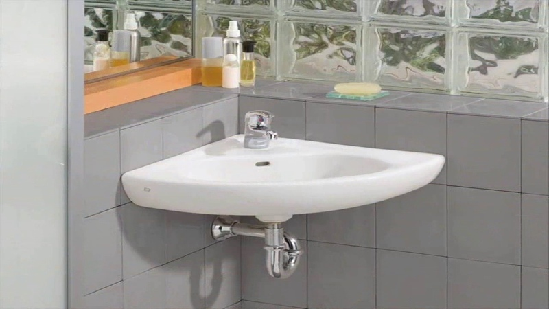 Small Corner Bathroom Sink With Pedestal