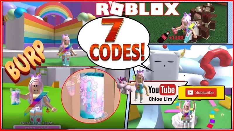 🌴 Roblox Soda Drinking Simulator! Jungle Update! 7 NEW CODES! MONKEYS UNICORN SODA! LOUD WARNING!