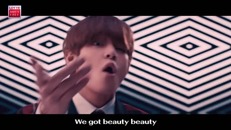 "180412 LOTTE DUTY FREE x BTS M⁄V ""You're so Beautiful"" Bonus Ver."